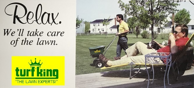 Relax and Let Turf King Lawn Care Take Care of Your Lawn